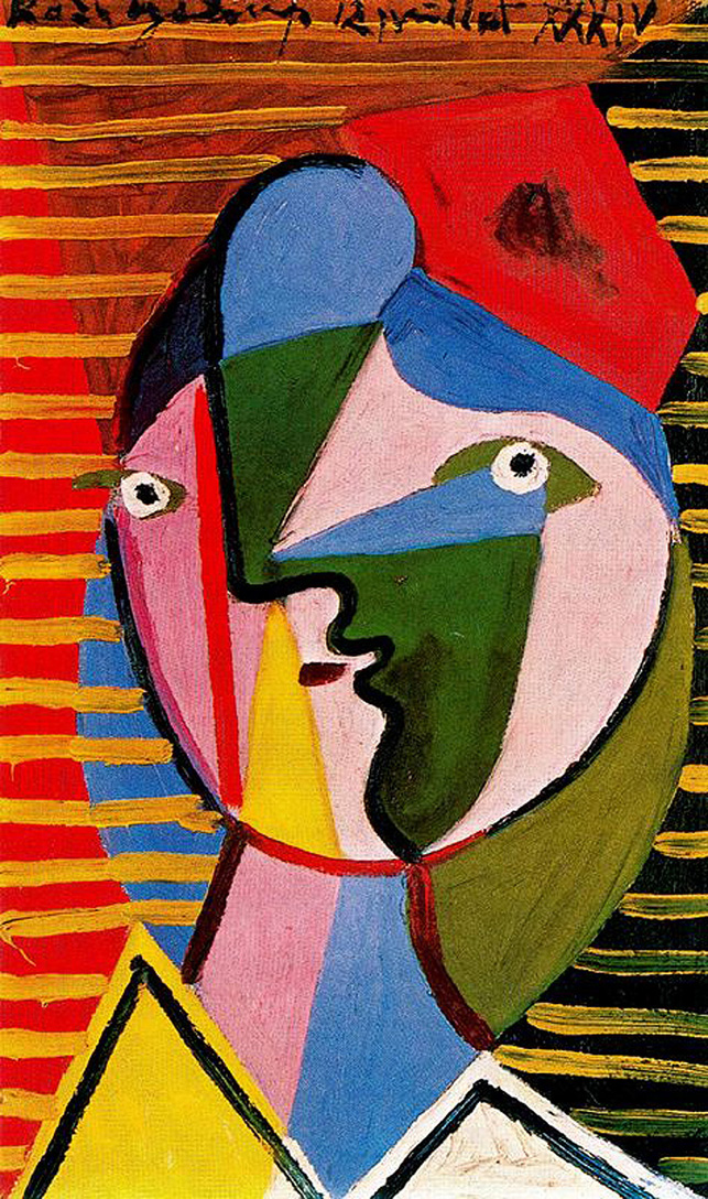 Woman turned right – Pablo Picasso