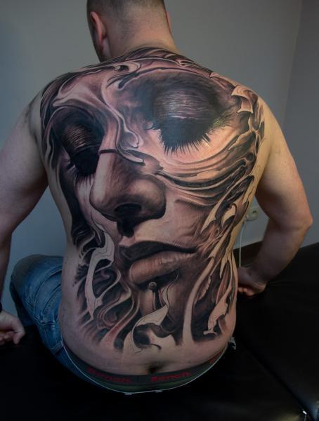 Tattoos: D A M N ! ! !