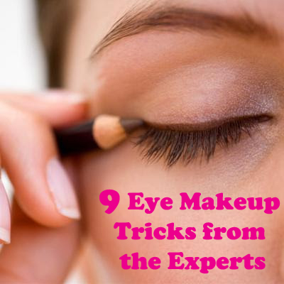 9 Simple make-up tricks to make your eyes pop.