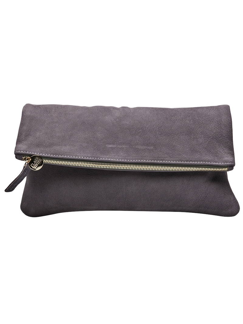fold over clutch | clare vivier