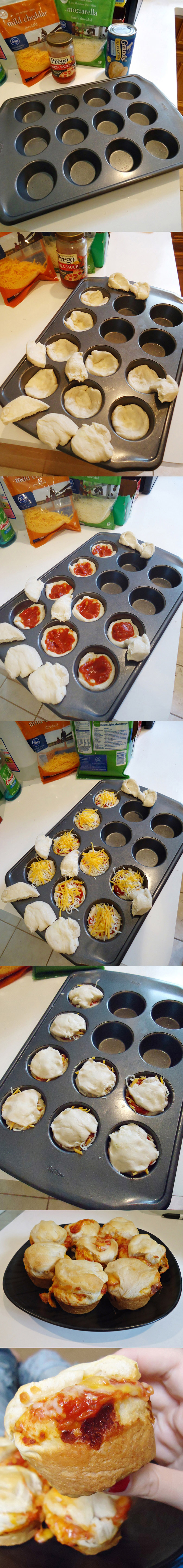Pizza cupcakes – a cupcake i can get behind!