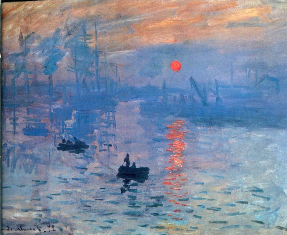 Impression, soleil levant (Claude Monet)