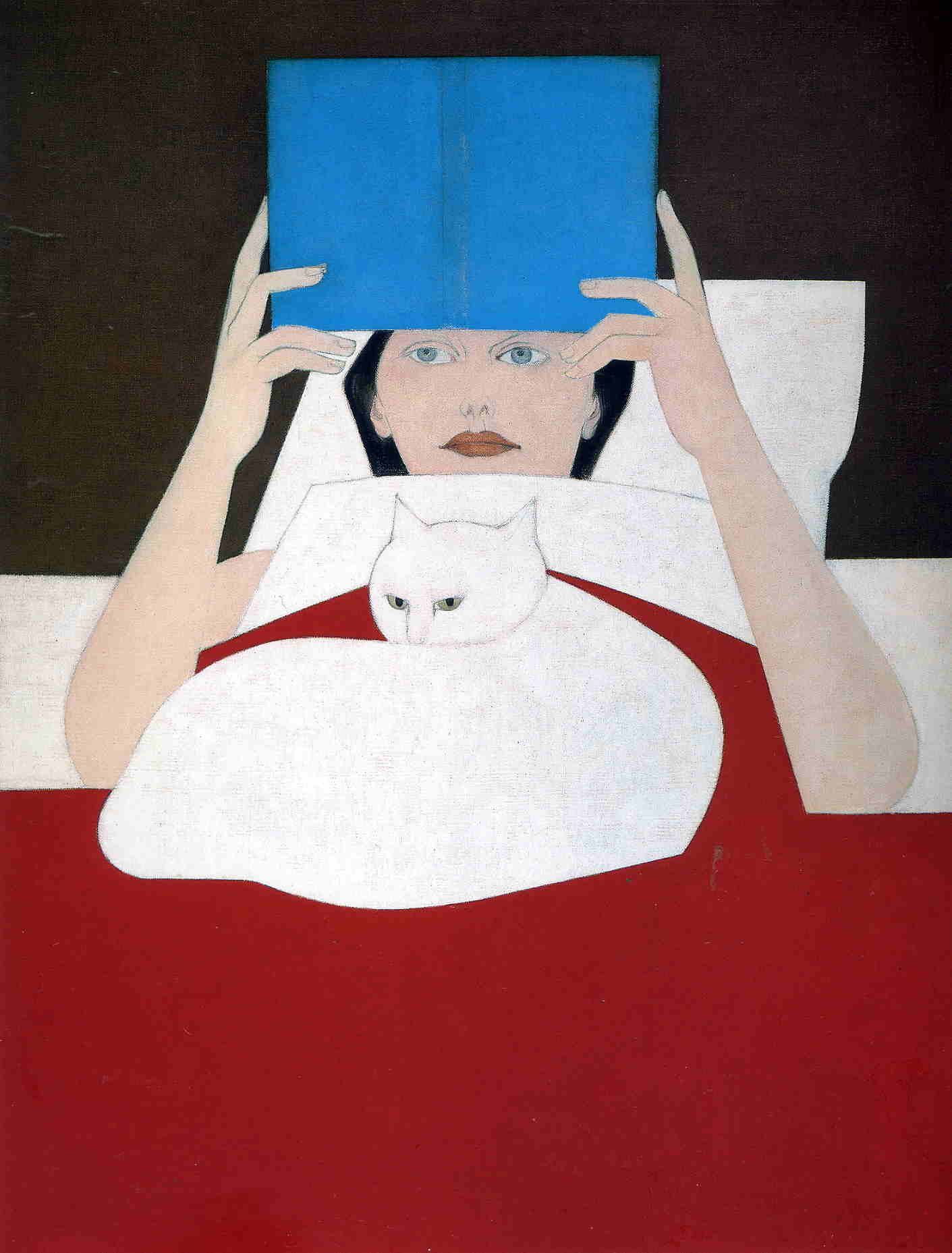 Woman Reading – Will Barnet