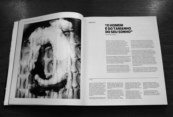 De Olho | Book by Pianofuzz , via Behance