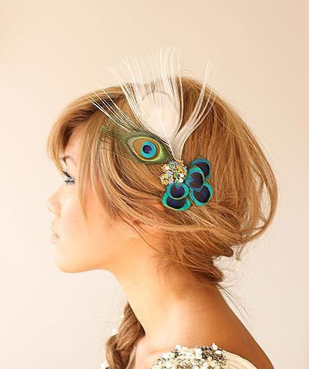 Peacock #hair #peacock