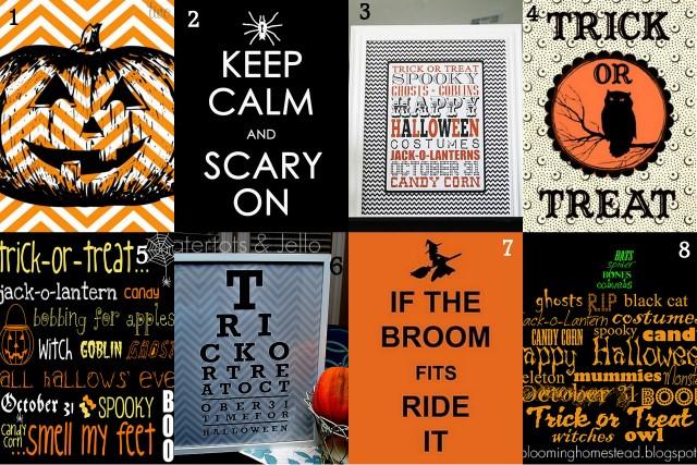 Free Halloween Printables!