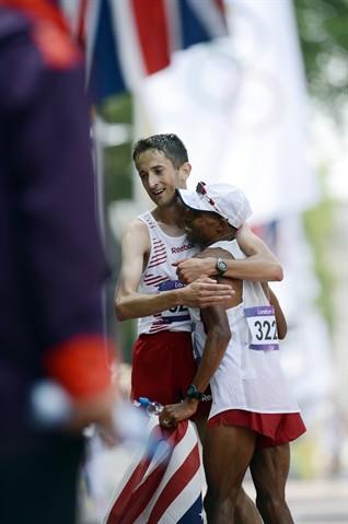 Meb Keflezighi Fourth In London Olympic Marathon – Track & Field Slideshows
