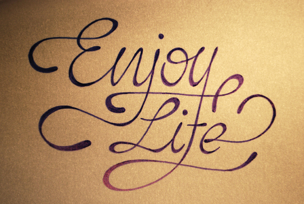 enjoy life script