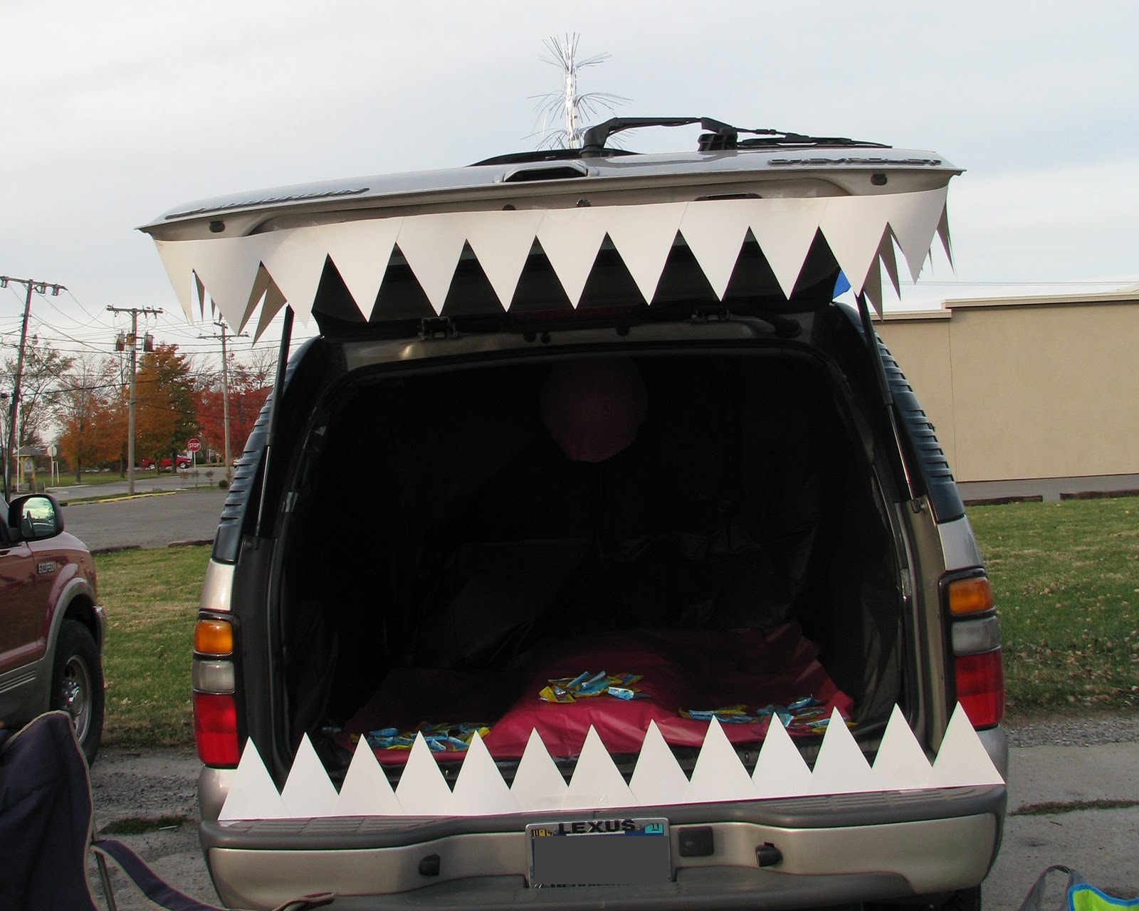 "Monster car. Fun for ""Trunk or Treating""!"