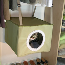 Pansa needs this! Kittywalk Closet Sleeper