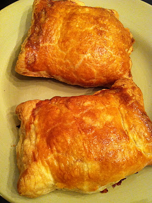 Puff Pastry boursin Chicken