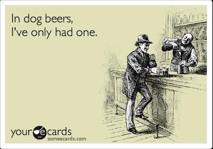 I'll take a dog's dozen.