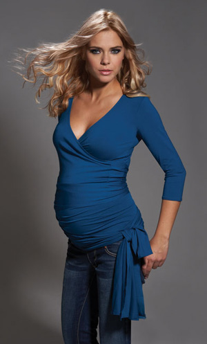 How to look pregnant – NOT pudgy :-)