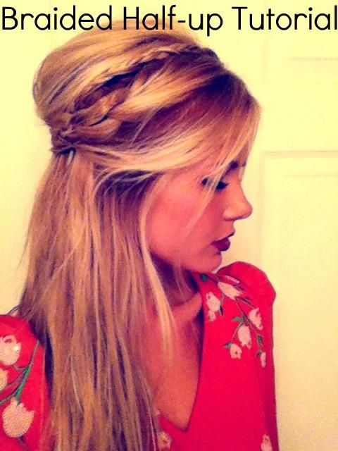 Braided Half up do. Wedding hair?