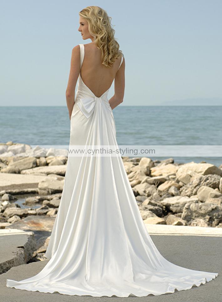 Backless wedding dresses!