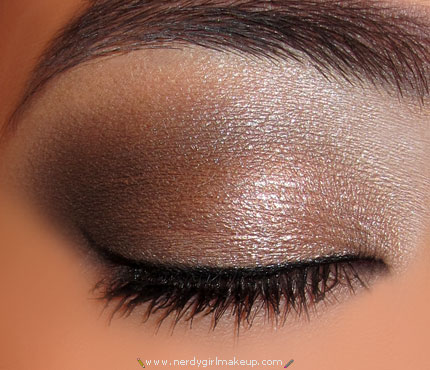 """perfect """"naked"""" eye using Urban Decay Naked Palette…"""
