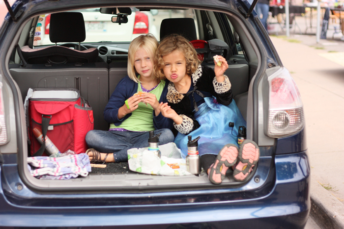 Trunk Picnic by Let's Lasso the Moon. Where's the oddest place your fami