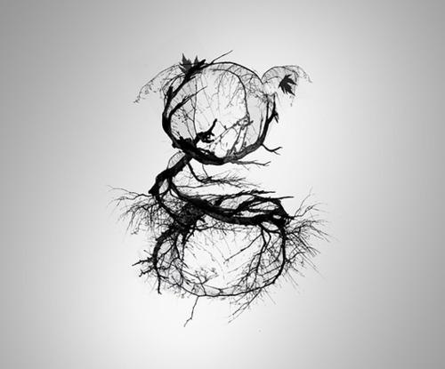 Interesting experimental typography work created by Barcelona-based designer Dan