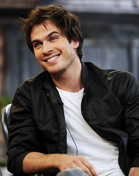 Ian Somerhalder ( I love his look in this pic OMG ;)