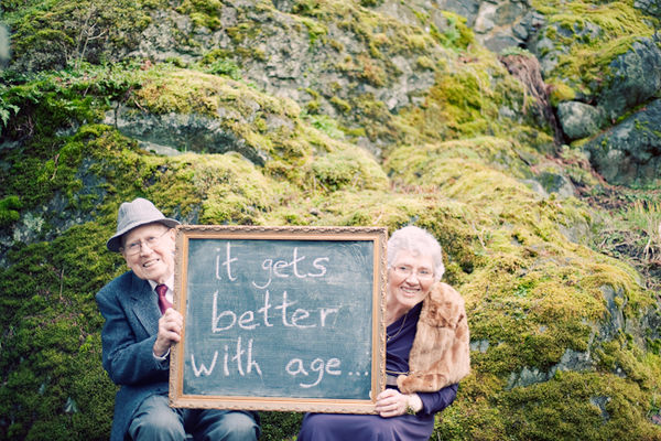 Alternative to photo booth at a wedding… advice on a chalkboard. cute!