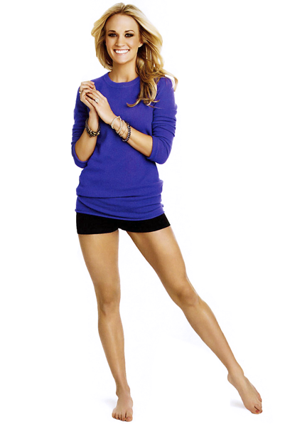 her leg workout