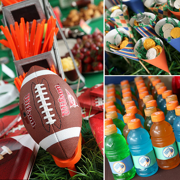 Tailgate Football Birthday Party
