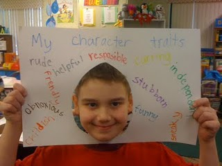 Character Traits Frame