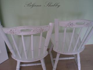 Shabby-Chic Chairs -DIY