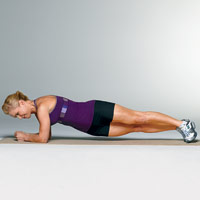 """2 week """"shrink a size"""" workout plan: daily walking + exercise routine"""