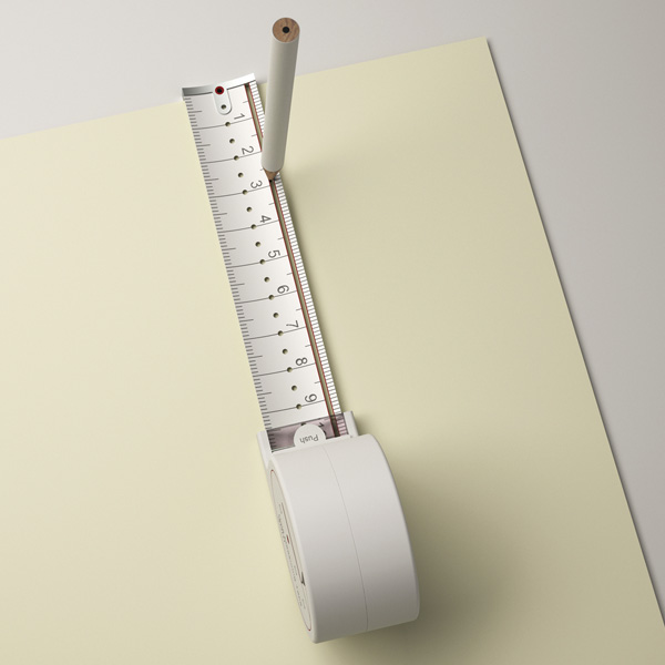 Hole Measuring Tape by Sunghoon Jung