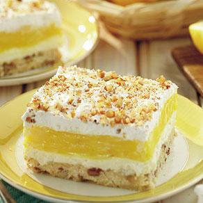 Luscious Lemon delight.