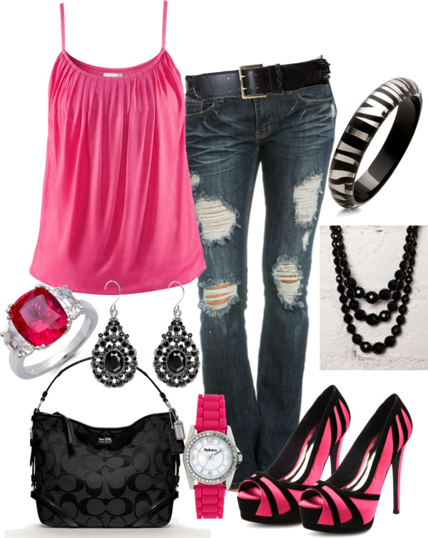 Electric Pink I wish I could wear those shoes. They are awesome. #Repin By:Pinte