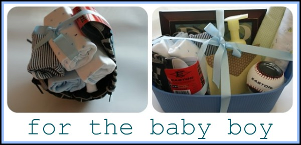 Shower/gift ideas for baby boys!