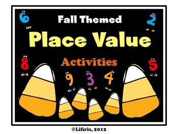 Fall themed place value activities to spice up your unit!  CCLS