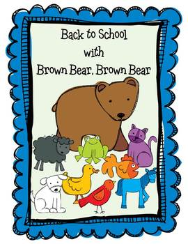 This is a 61 page unit of my very best Brown Bear activities that I have used fo
