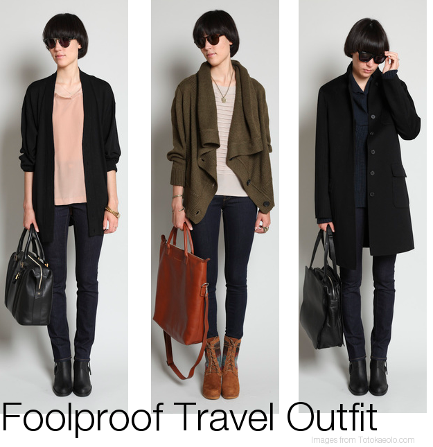 foolproof travel outfits