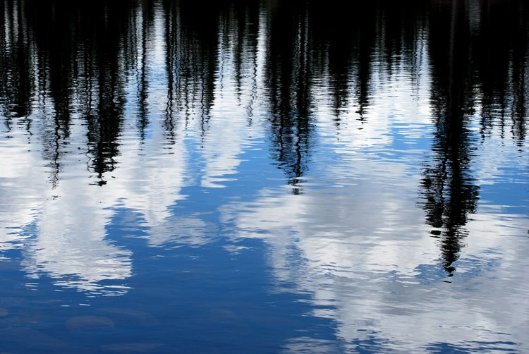 Reflections on Butterfly Lake, Utah (epod)