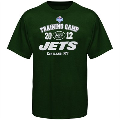 New York Jets 2012 Training Camp T-Shirt – Green