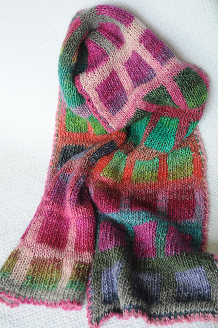 scarf in colours