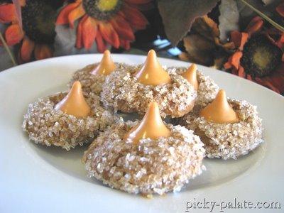Pumpkin Kiss Cookie