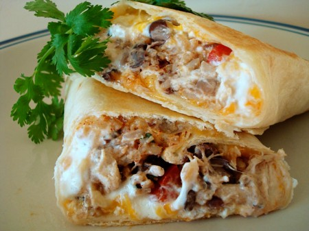 Crispy Southwest Chicken Wraps – I made these awhile ago and they were really go