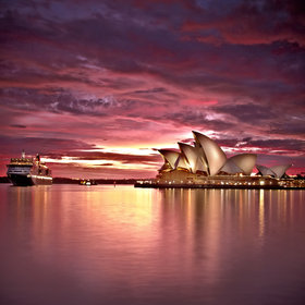 Sydney Opera House. Stunning photo of a great place.