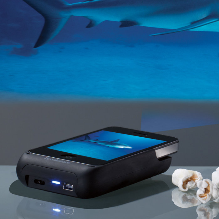 pocket iPhone projector