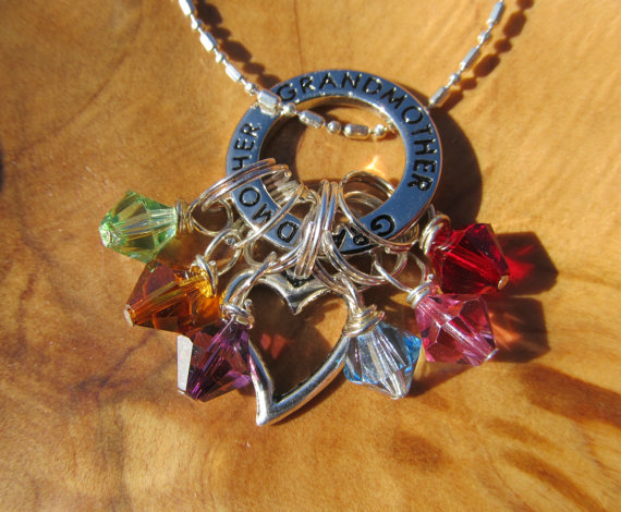 SPECIAL  GRANDMOTHER with HEART  Family by DestinyAccessory, $18.00