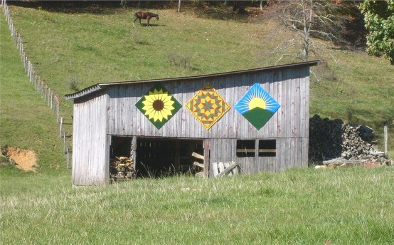 Barn quilts rock!