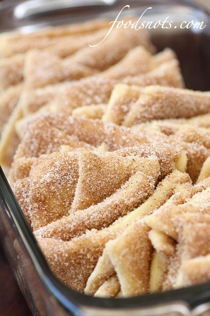 Elephant Ears (Cinnamon and Sugar Pull-Apart Bread)