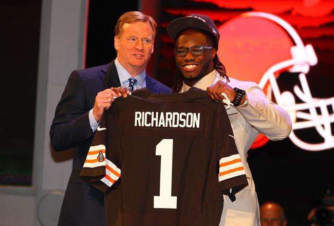 Trent Richardson 2012 class… Cleveland Browns