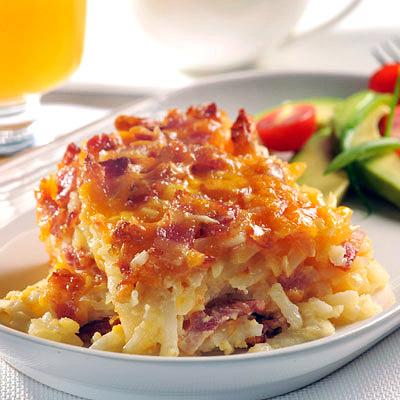 Potato Bacon Breakfast Casserol