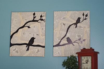 diy wall art~
