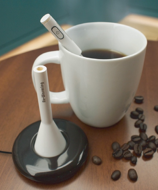 Re-heats drinks: NEED THIS! I always end up drinking cold coffee